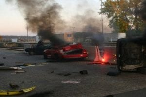 Greece, NY – Man in Critical Condition After Fiery Car Crash Following Police Chase Near Route 390