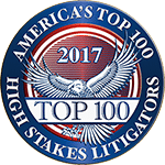 American Top 100 High Stakes Litigations