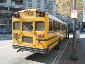 Buffalo, NY – School Bus T-Boned by Car Vehicle on City's West Side