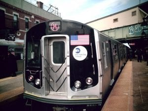 New York, NY – M Train Temporarily Cancelled Following Pedestrian Struck on Tracks