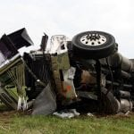 Dolgeville, NY – Tractor-Trailer Rollover Causes Injuries