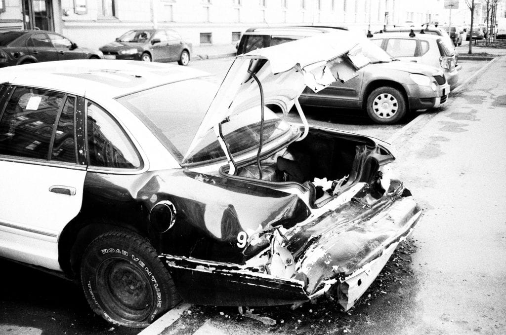 Plattsburgh, NY – Vehicle Struck Telephone Pole in Car Crash with Injuries
