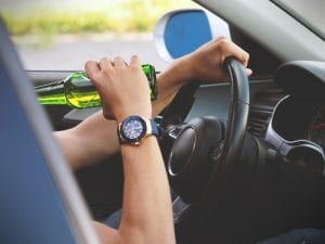 Newburgh, NY – Intoxicated Woman Causes Injurious Crash on Route 9W