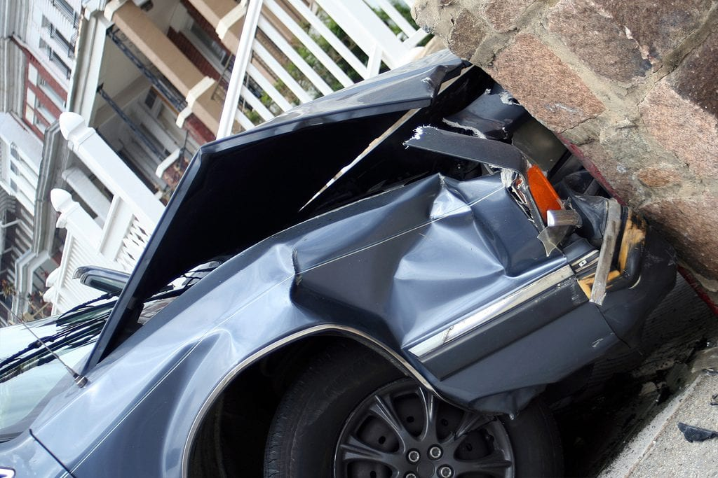 Dongan Hills NY – One Injured After Car Slams into Storefront in Staten Island