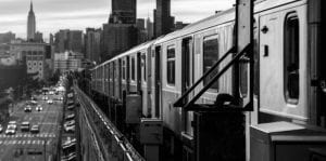 new york train