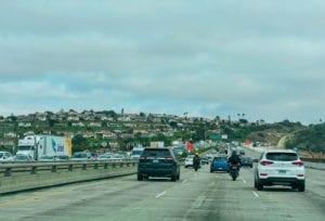 Motorcycle lane